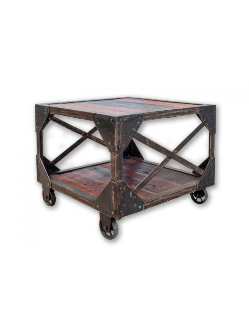 Stolik kawowy na kołach 45 x 55 x 55 Metal