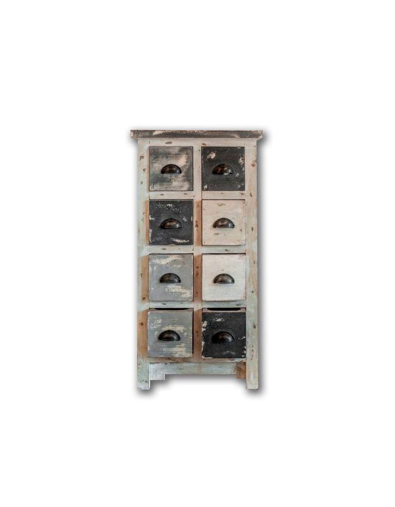 8-szufladowa szafka / Bieliźniarka M-4897