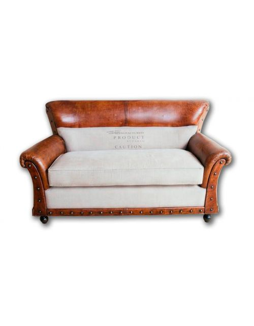 Brown Sofa 2 osobowa 150 x 75 x 90