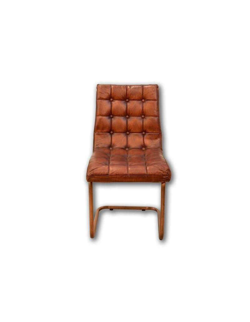 Fotel krzesło brown loft 46x60x90