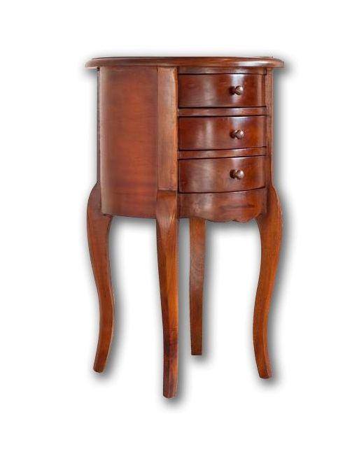 Stolik drewniany okrągły Klasyczny