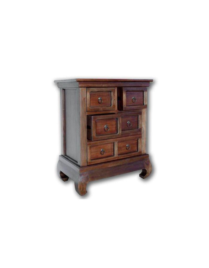 Stolik nocny / Szafeczka drewniana / Bieliźniarka Opium 65x40x80