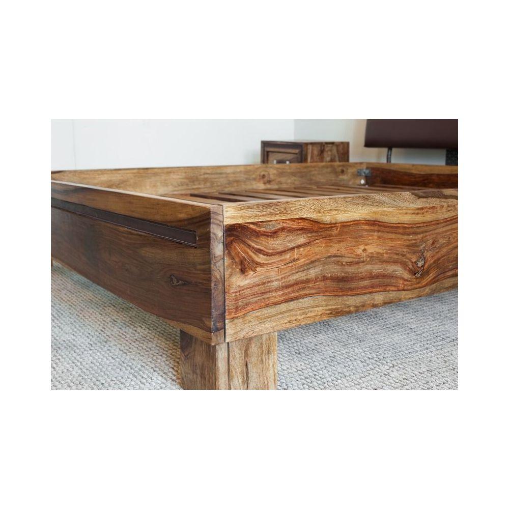 łóżko Drewniane 180 X 200 Milan Mandallin Meble Kolonialne