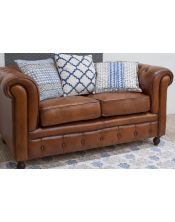Sofa Leather 2 osobowa 158x81x76