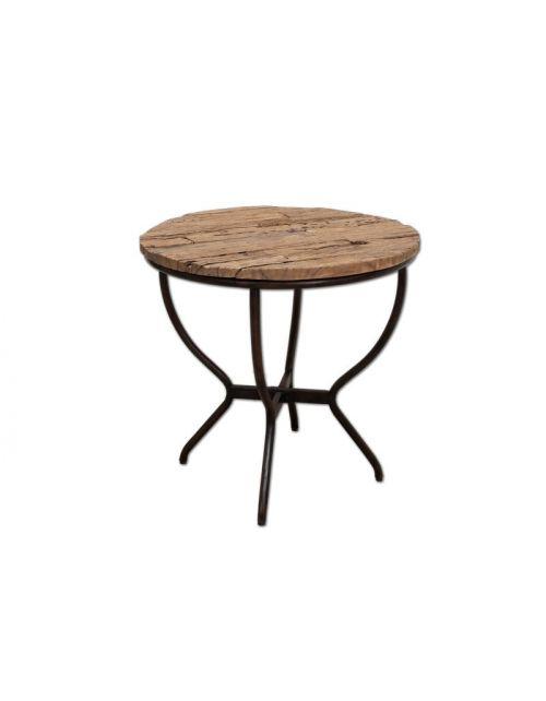 Okrągły stolik kawowy 80 x 80 Palisander
