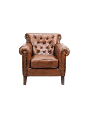 Fotel Leather 87x84x93
