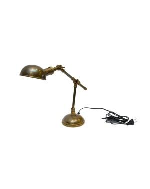 Mosiężna lampa na biurko LAM-008