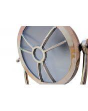 """Metalowa, okrągła lampa na trójnogu """"Round Eye"""""""