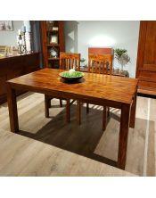 Stół drewniany jadalniany 120/210 Oiled Matt Palisander
