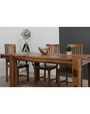Stół drewniany jadalniany 200/300cm Milan (lakierowany)