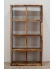 Biblioteczka podwójna Shina (lakierowana)