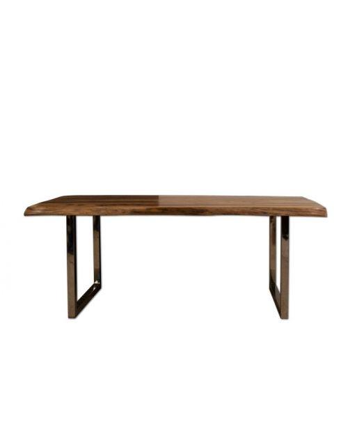 Stół drewniany jadalniany 200 x 100 x 77 Milan