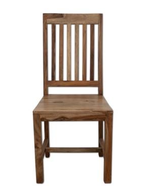 Krzesło drewniane lakierowane Milan Palisander