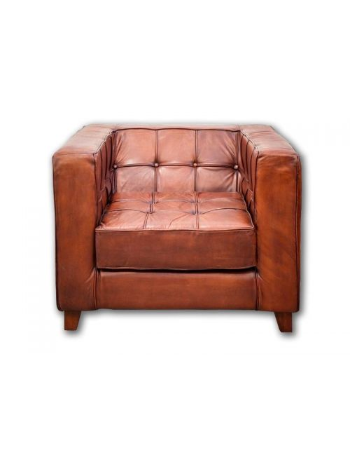Leather Fotel Sofa 70x92x82