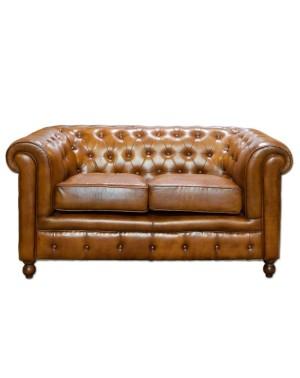 Sofa Leather 2 osobowa 158x81x76