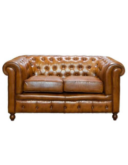 Sofa Leather 2 osobowa 158 x 81 x 76