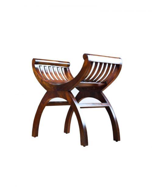 Fotel Klasyczny Yuyu Mahoń