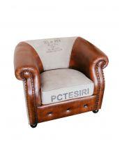 Brown Fotel Sofa 92x80x72