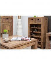 Stolik kawowy 80x80 drewniany Natural