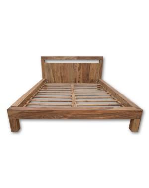 Łóżko drewniane 160 x 200 Natural