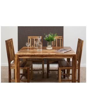 Stół drewniany jadalniany 120 /210 (lakierowany) Shina Palisander