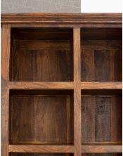 Biblioteczka podwójna (10) Walnut