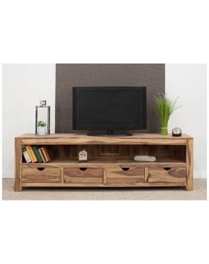 Komoda RTV/ TV 4 szuflady palisander Natural Spring
