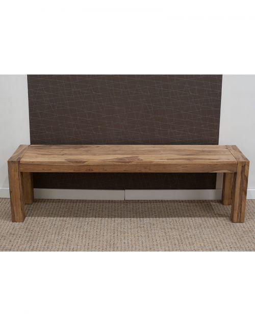 Ławka z drewna 160cm Natural