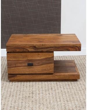 Stolik drewniany nocny  State AKACJA