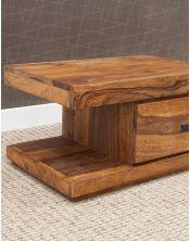 Stolik drewniany nocny  Stone