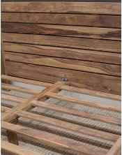 Lozko drewniane 140x200 State stone