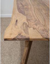 Stół drewniany jadalniany 160cm Natural Live Edge