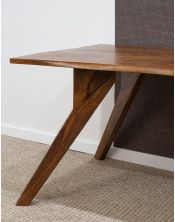 Stół drewniany jadalniany 160cm Oiled Matt Live Edge