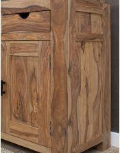 Komoda duża 2 szuflady 2 drzwi palisander Natural Spring