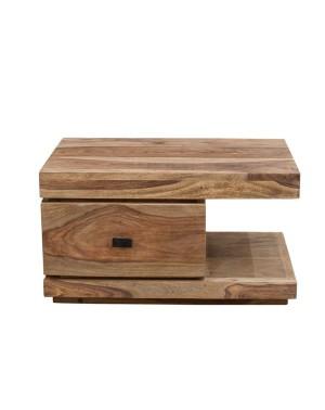 Stolik drewniany nocny State Natural Palisander