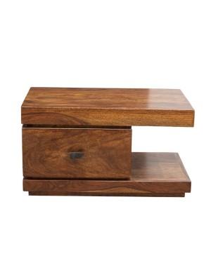 Stolik drewniany nocny  State Oiled Matt