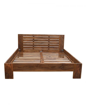 Łóżko drewniane 160 x 200 State Oiled Matt Palisander