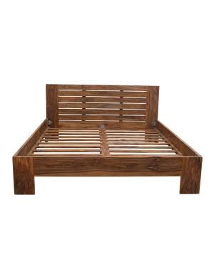 Łóżko drewniane 140x200 State Oiled Matt Palisander