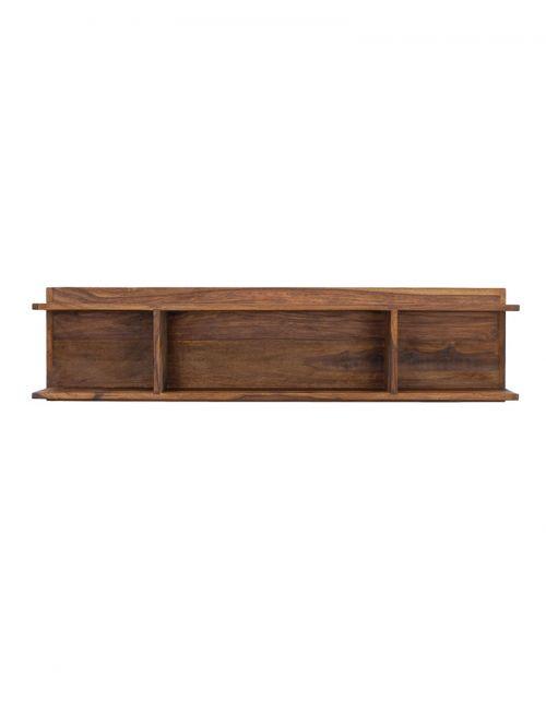 Półka PU Brown drewno Palisander 120 x 30 x 21