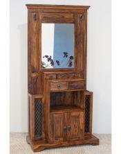 Garderoba z lustrem (2+4) Walnut