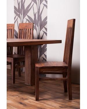 Stół drewniany jadalniany 180/260 Pu Brown
