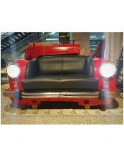 Stylizowana sofa samochód Red CAR 158cm
