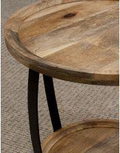 Okrągły stolik kawowy 60x60 Mango