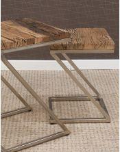 Komplet 2 stolików Rustico - Erosion Wood