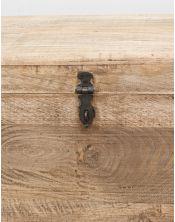 Drewniana Skrzynia Loft MANGO 80x40x35