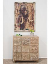 Obraz Massai Women 80x110
