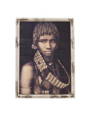 Niezwykły duży obraz Hamar Lady 80x110