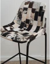 Krzesło z obiciem skórzanym M-16886