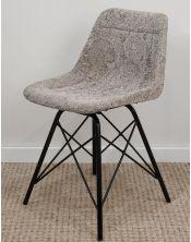 Krzesło z obiciem skórzanym M-15123