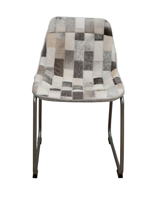 Krzesło z obiciem skórzanym M-16885